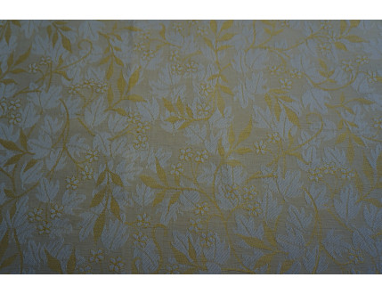 Pezzo di stoffa campione giallo