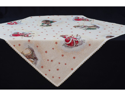 Tablecloth Santa Claus Lurex