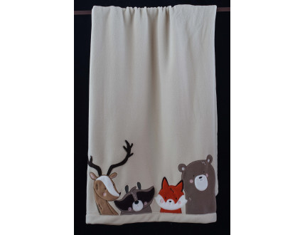 Baby Blanket Forest Animals