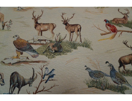 Fabric Gobelin animals