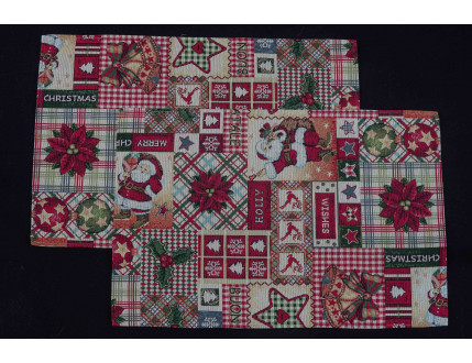 2 Place Mats Patchwork