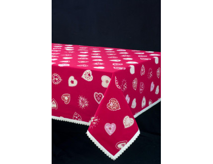 Tablecloth Heart