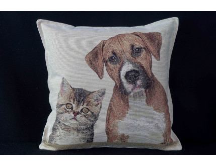 Cushion Dog And Cat