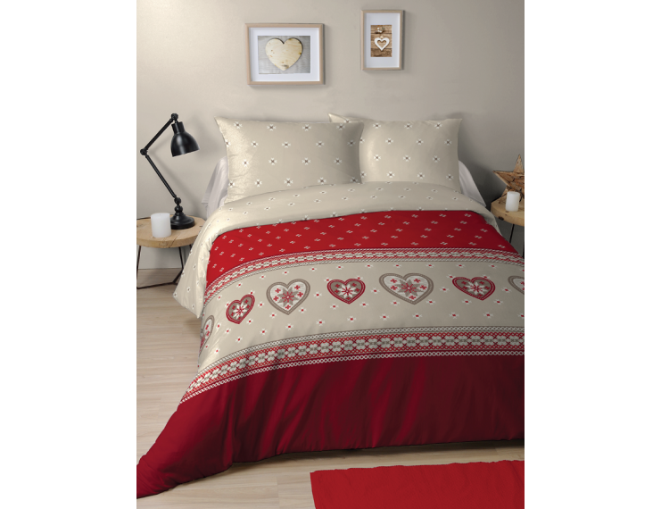 Duvet Cover Hearts and Stars