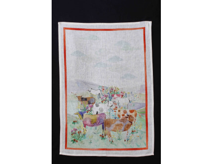 Dishtowel Cows