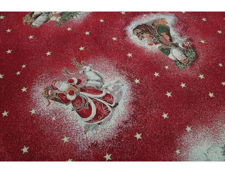Stoffa su misura Gobelin Natale rossa
