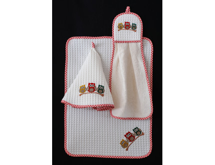 Dishtowel Owls