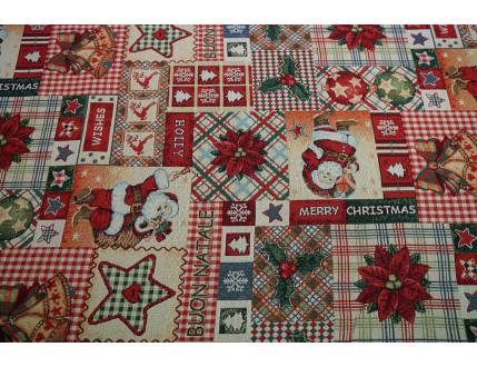 Soffa Gobelin con decorazione Natale
