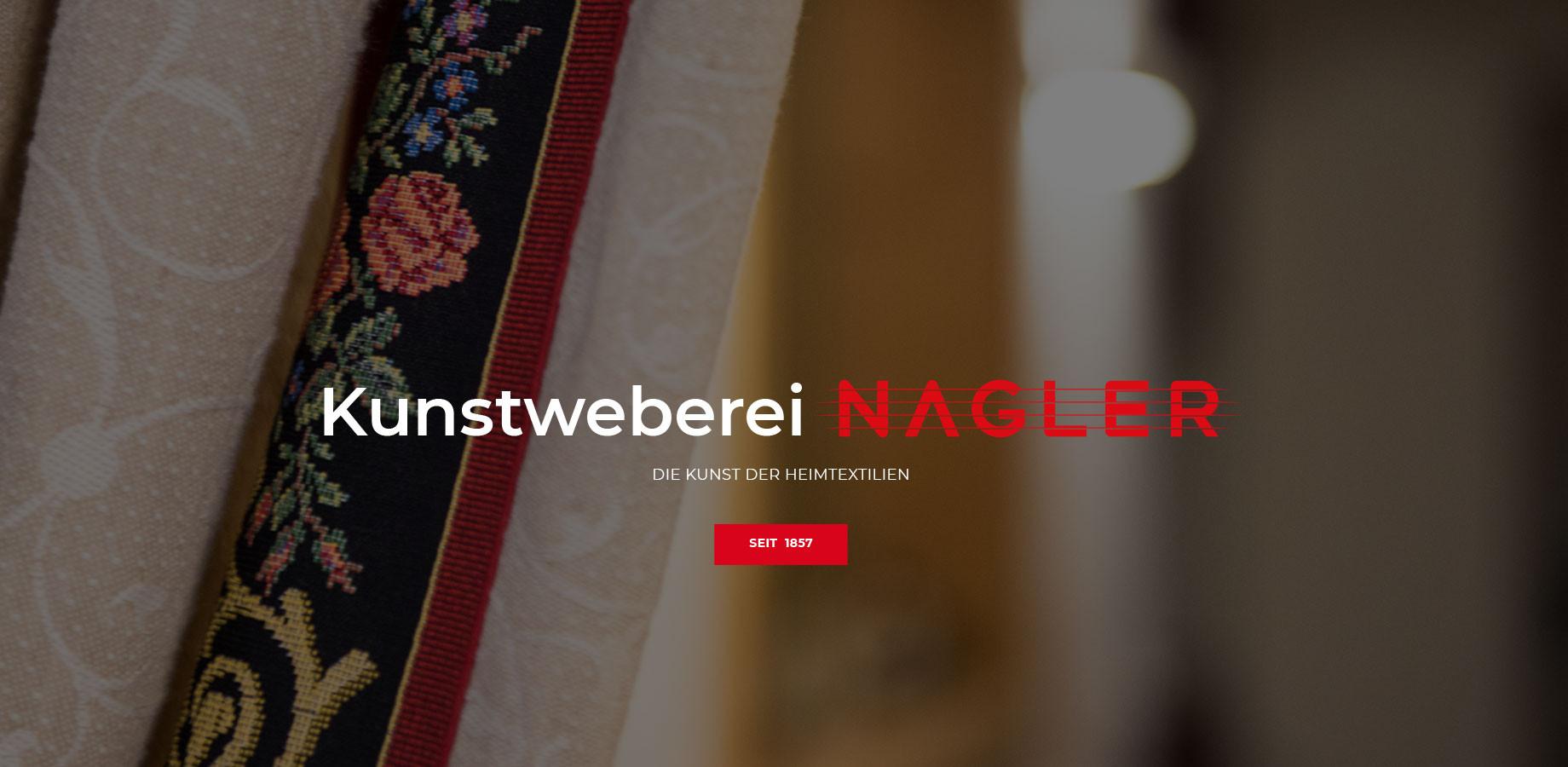 Kunstweberei Nagler - die Kunst der Heimtextilien